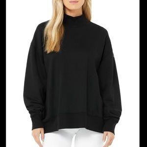 Alo Refresh Mockneck Pullover Sweatshirt